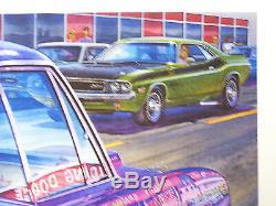 1970 Dodge Super Bee Art Mr Norm Grand Spaulding Mopar B Body 440 Sure Grip 727