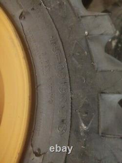 2 New Goodyear Sure Grip 15 19.5 8 Ply Tractor Tires with rims