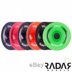 Bauer Quad Roller Skates NS Senior Outdoor Wheels UK 6-12 Sims, Aerobic, Zen