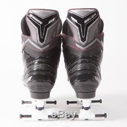 Bauer Quad Roller Skates NS Sure Grip Avanti Magnesium Plate UK 7