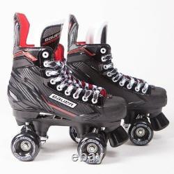 Bauer Quad Roller Skates NSX Senior Outdoor Wheels UK 6-12 Sims, Aerobic, Zen