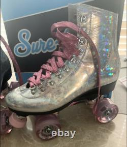Brand New Pink Prism Roller Skates Mens size 9 (Indoor/Outdoor)