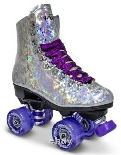 Brand New Purple Prism Roller Skates Mens size 5 (Indoor/Outdoor)