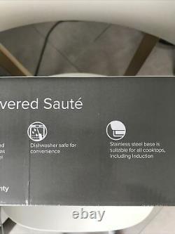Brand New in Box Anolon Advanced+ SureGrip Umber 28cm/4.7L Sauté Pan