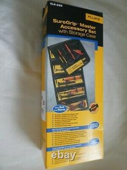 FLUKE TLK-225 SureGrip Master Accessory Set NEW Original Box + Free BNC Adapter