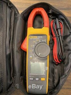 Fluke 376 FC True-RMS Clamp Meter With TLK 225 Sure Grip Master Accessory Kit