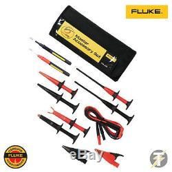 Fluke TLK-225 SureGrip Probes, Clips and Lead Accessory Set with Storage Case