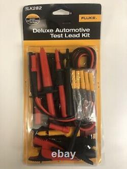 Fluke TLK282 SureGrip Deluxe Automotive Test Lead Kit. FREE SHIPPING
