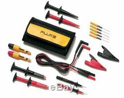 Fluke TLK282 SureGrip Deluxe Automotive Test Lead Kit includes Insulation Clip
