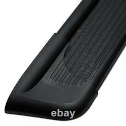 For Dodge Ram 2500 98-09 Running Boards 6 Sure-Grip Cab Length Black Running