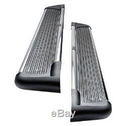 For Nissan Frontier 05-19 Westin 6 Sure-Grip Black Running Boards w Brite Trim