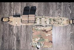 HSGI Suregrip Belt 32 Small Multicam WithFast mag P Pouches & Dump pouch