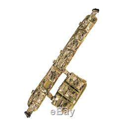 High Speed Gear Sure-Grip Padded Belt Slotted Small MultiCam 849954016626