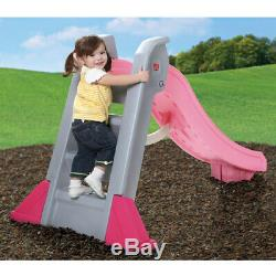 Indoor/Outdoor Big Folding Pink Slide for Toddlers with Sure-grip Handles NEW