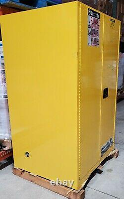 Justrite 896020 Sure-Grip EX Flammable Safety Cabinet, 60 gallon, 2 self-close