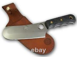 KNIVES OF ALASKA 00001FG BROWN BEAR SUREGRIP FIXED BLADE KNIFE WithLEATHER SHEATH