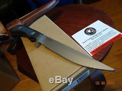Knives Of Alaska 10 1/4 849fg Boar Hunter D2 Tool Steel Sure Grip Handle Wow