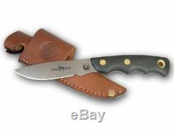 Knives of Alaska Alpha Wolf S30V Suregrip Handle Knife, Black, 00345FG