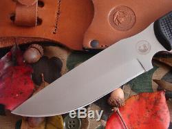 Knives of Alaska Knife Fixed Hunting Bush Camp Deer Camping Bear Bushcraft sheat