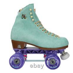 Moxi Lolly Floss Skates Size 6 w7-7.5 Sunlite Plates Sure-Grip Wheels. READY NOW
