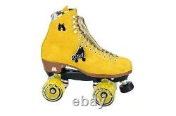 Moxi Lolly Pineapple Roller Skates Size 7 (w8-8.5) not Impala Riedell Sure-Grip