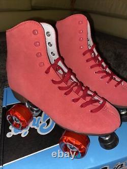 NEW Sure Grip Boardwalk Roller Skates Red Mens Size 8 / W9