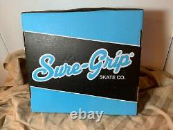 NEW Sure-Grip Boardwalk Suede Roller Skates Men's Size 5 (Women's Size 6)
