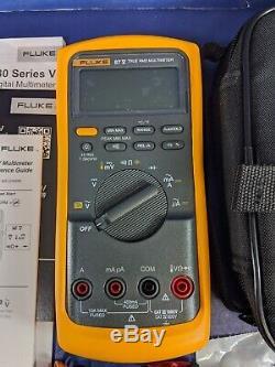 New Fluke 87V-E2 87V/E2 SureGrip Accy Kit, TPAK, Case