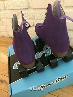 New Sure-Grip Boardwalk Roller Skates (like Moxi Lolly) Purple Mens Size 8 / W9
