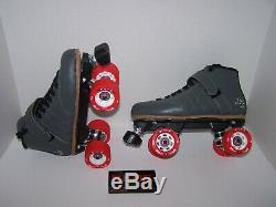 New Sure-grip Custom Leather Roller Derby Skates Ladies Size 8