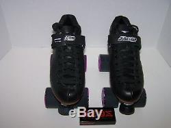 New Sure-grip S-75 Avenger 45da Custom Leather Roller Skates Mens Size 7
