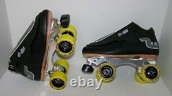 New Sure-grip S-85 Custom Leather Roller Skates Mens Size 8