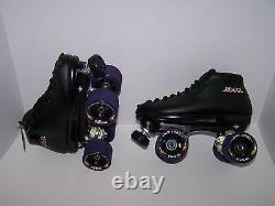 New Sure-grip Xl-55 Custom Leather Roller Skates Mens Size 5