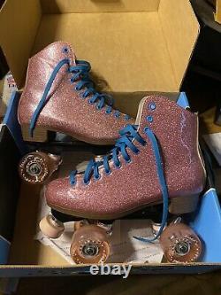 Pink Stardust roller skates, Mens size 7