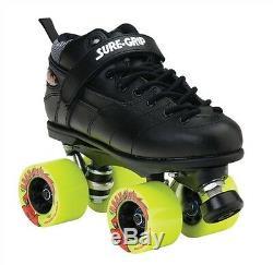 Rebel Outdoor Roller Skates with Atom Road Hog Wheels Men Size 3-12