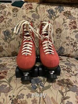 Red Sure Grip Boardwalk Skates Mens 7