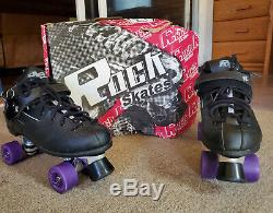 Rock Gt50 Medallion Plus Sure Grip Men Indoor Outdoor Roller Skates Size 15 New