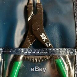 SK 7675 4 Pcs SureGrip 90° Tip Retaining Snap Ring Plier Set Vintage