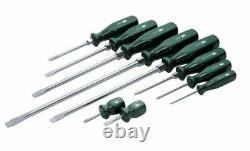SK 9pc SureGrip Combination Screwdriver Set 86006