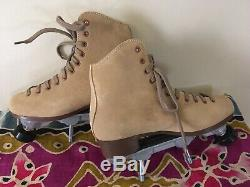 Sure Grip 1300 Suede Boot Tan Men 6 Women 7 SG Rock Plate Carrera Toe Stop