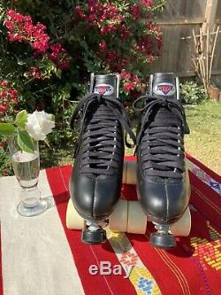 Sure Grip 73 Mens 7 Black Leather Full Artistic Skate Setup