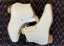 Sure Grip 93 Womens 10 1/2 White Leather Artistic Skate Boots