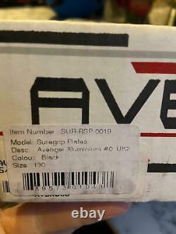 Sure Grip Avenger Rollerskating Plate 130mm Black