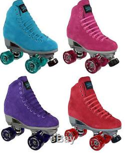 Sure-Grip Boardwalk Indoor Roller Skates Pair with Fame Wheels 4 10 SIZES NEW
