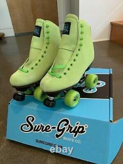 Sure Grip Boardwalk Skates -Key Lime (Mens 6, Womens7-7.5)