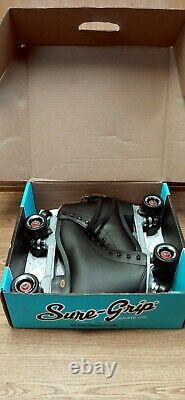 Sure Grip Fame Outdoor Roller Skates Black Men's Size 12 with Box NEW