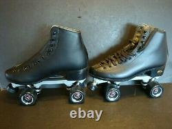 Sure Grip Fame Roller Skates Black Men's Size 10 NEW Artistic Carrera Outdoor