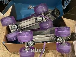 Sure Grip Indoor/Outdoor Mens 10 Womens 11 roller skates Quad Skates