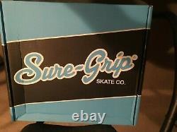 Sure Grip International LADIES SIZE 8 / White Roller Skates FAME / NEW