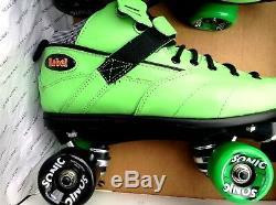 Sure Grip International Rebel Sonic Speed Roller Skates Size 11